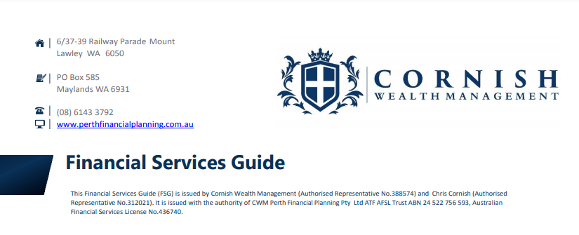 Financial Services Guide image